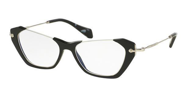 9457513648 Miu Miu MU04OV RASOIR 1AB1O1 Eyeglasses
