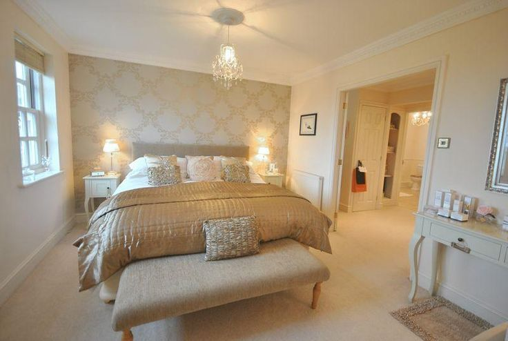 Good White Bedroom With Gold Accent Wall   Google Search   Google Search