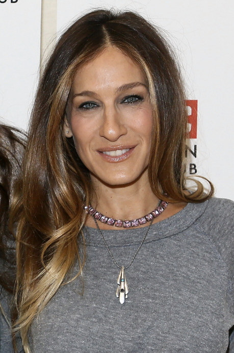 SJP looking just lovely wearing a House of Lavande Vintage necklace