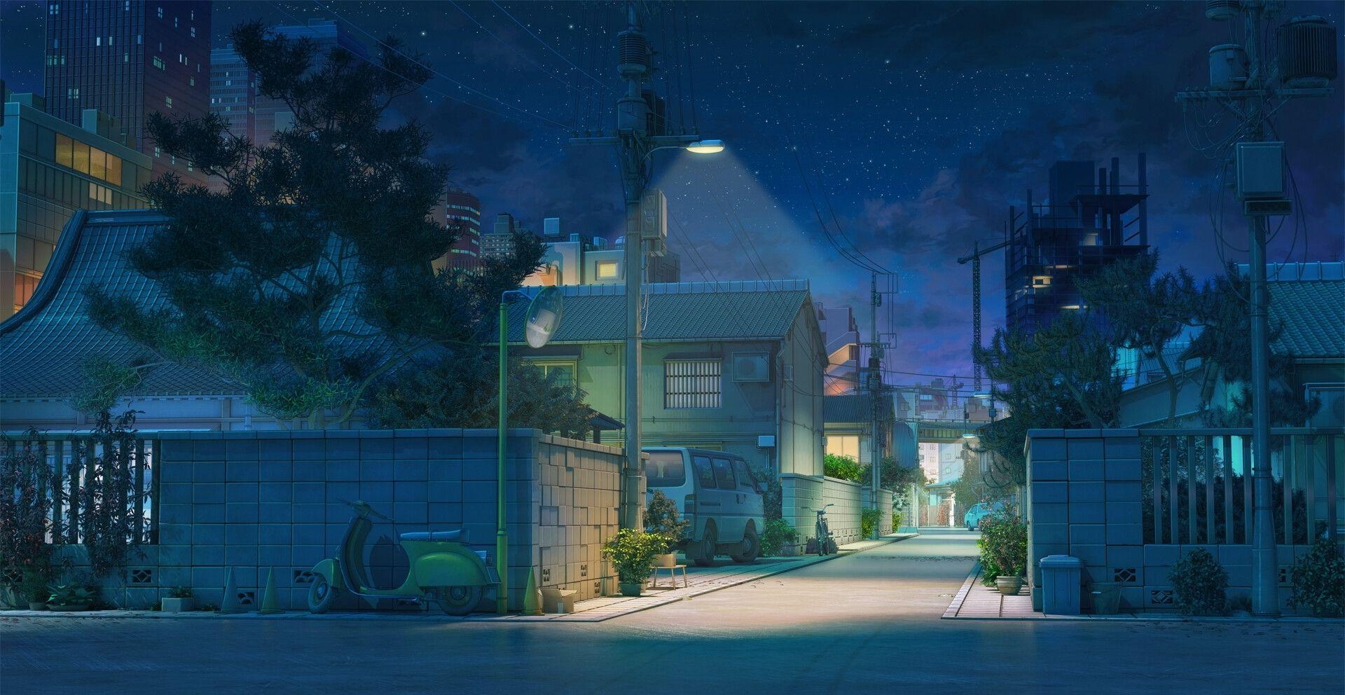 Iamag On Com Imagens Cenario Anime