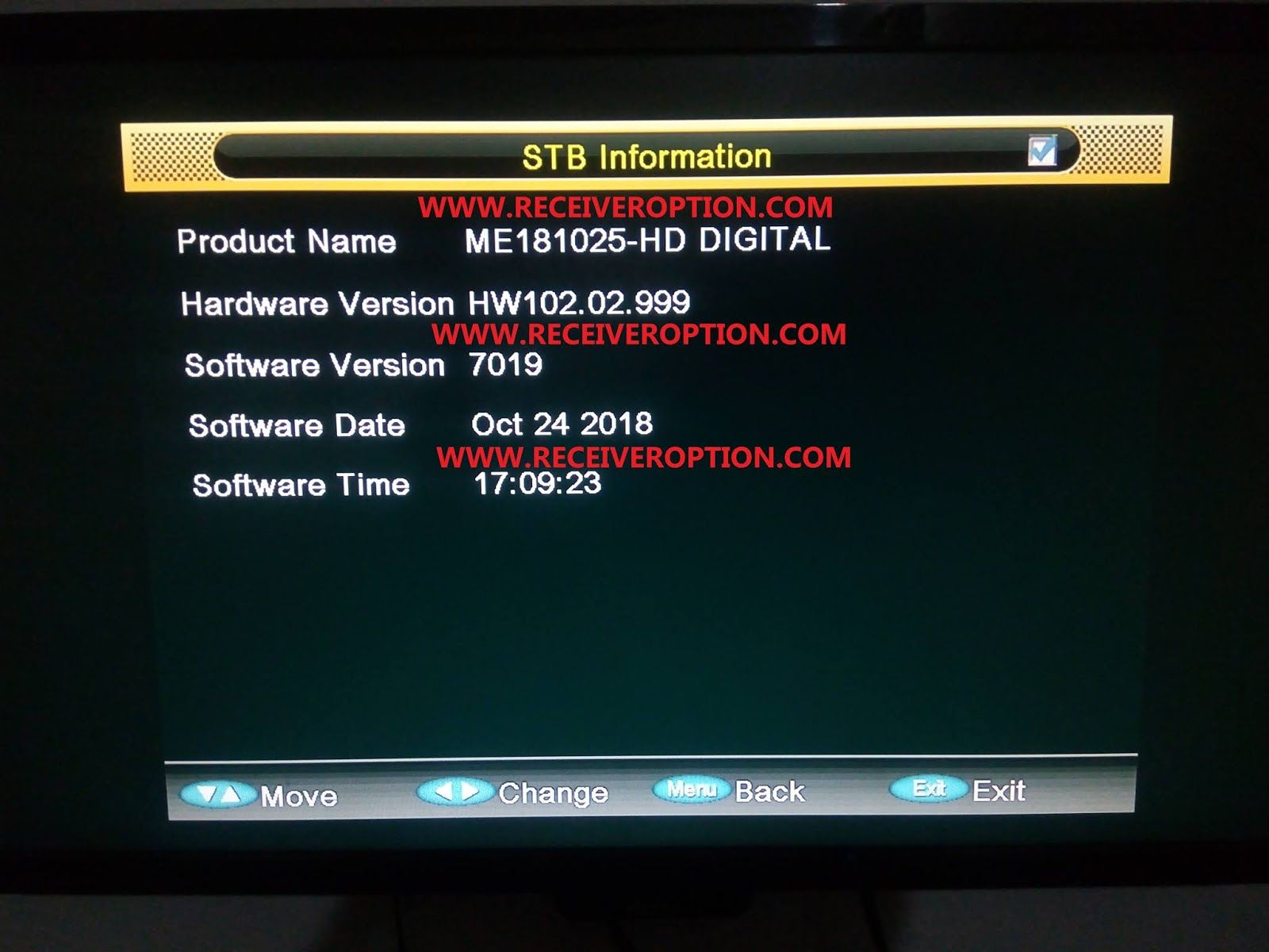 GREEN GOTO HD RECEIVERS POWERVU KEY NEW SOFTWARE BY USB in