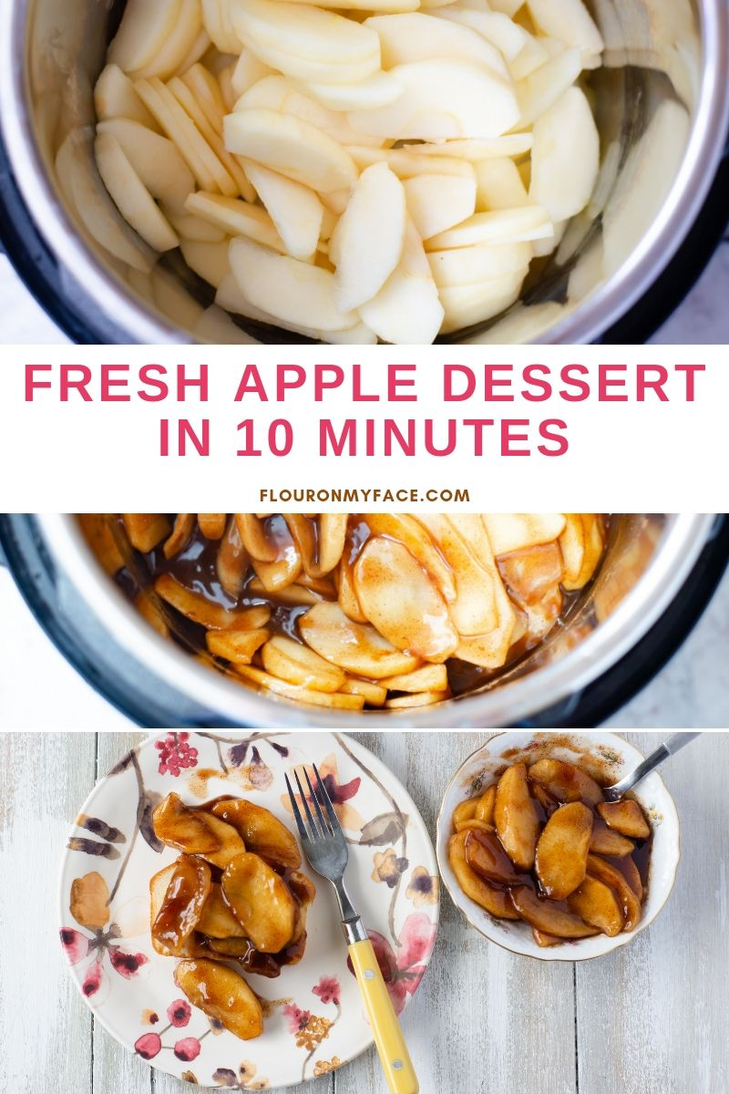 Instant Pot Cinnamon Apples Recipe Instant Pot Dinner Recipes