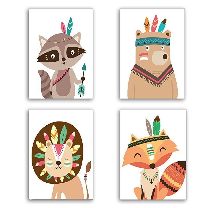 Poster Fur Kinderzimmer Babyzimmer Din A4 Set Geschenkideen