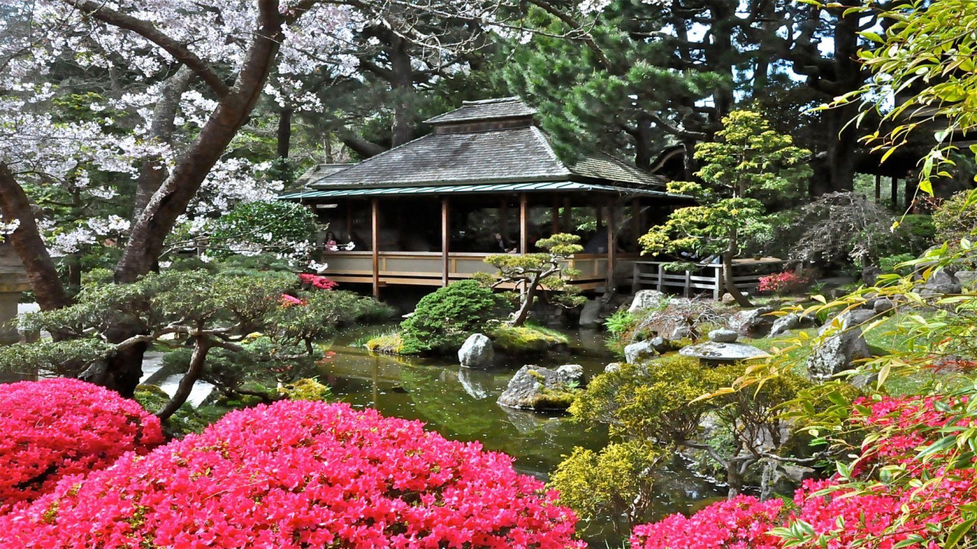 Hagiwara Japanese Tea Garden Golden Gate Park San Francisco California Usa Tea Garden Japanese Garden Golden Gate Park