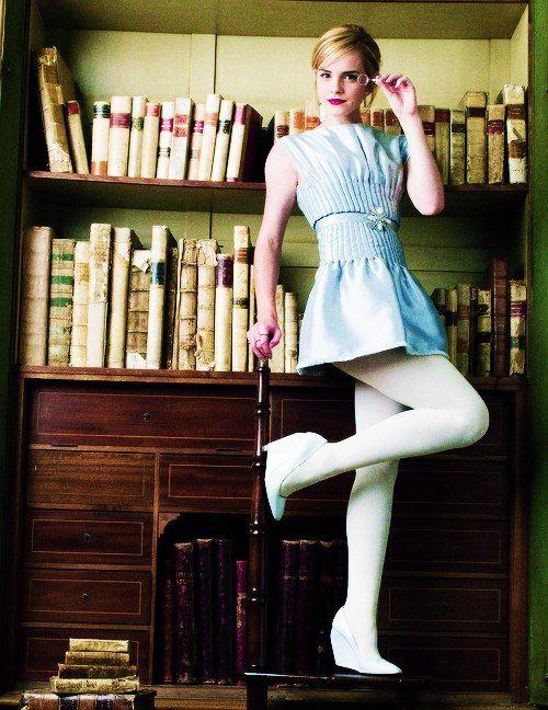 Emma watson tights