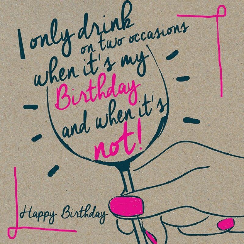 Lol love my wine ☺️ Happy birthday girlfriend, Happy
