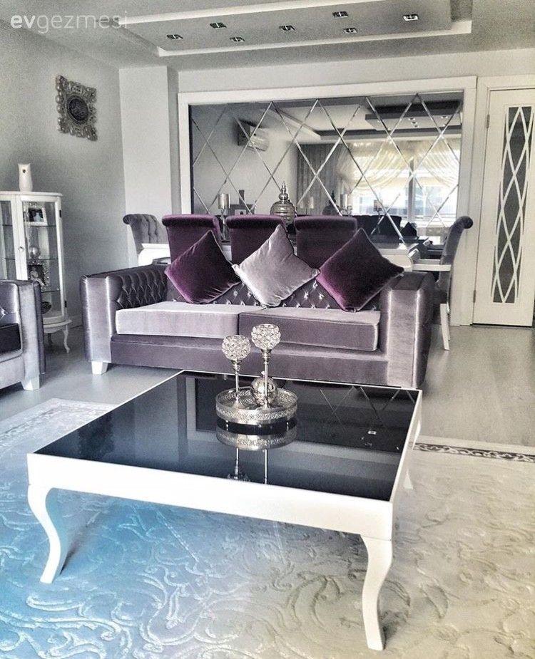 Ayşe hanımın modern stilde şık ve konforlu evi..