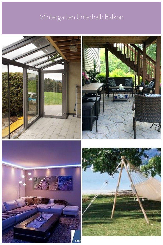 Installed Under Balcony By Specialist Partner Schmidinger From Aus In 2020 Wintergarten Garten Balkon