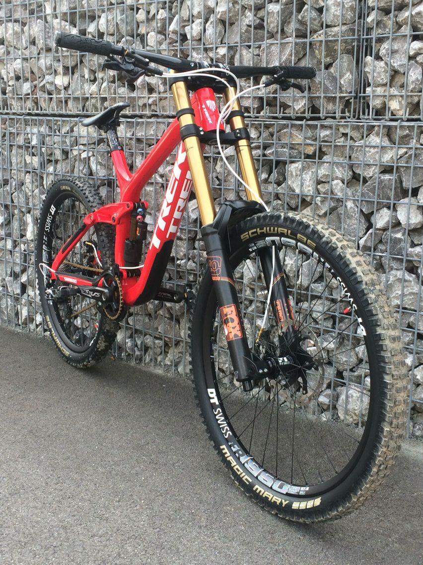 84135bca6ec Trek Session 9.9 2016 Hellboy Custom Edition Downhill Bike, Mtb Bike, Bike  Trails,