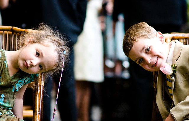 children at a wedding by smoothdude, via Flickr