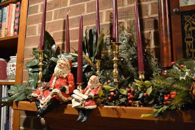 Natal acessórios de santa