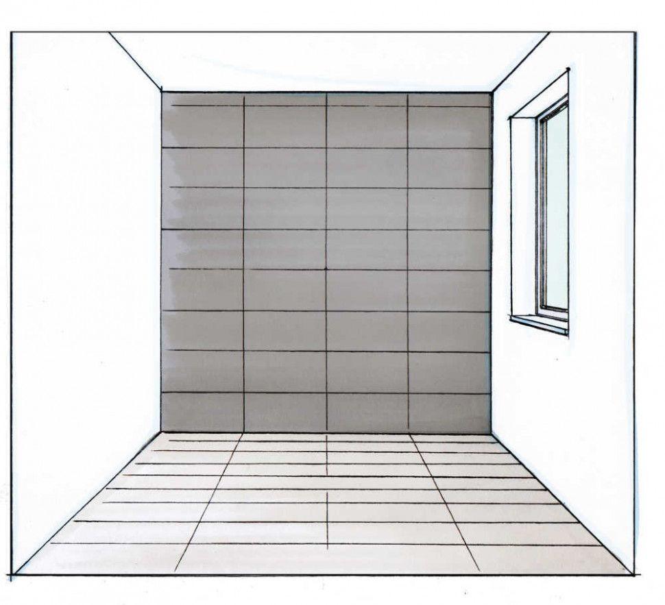 10 Verlegerichtung Fliesen Wohnzimmer in 10  Badezimmer fliesen