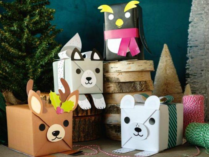 13 originales ideas para envolver tus regalos Envuelto, Tijeras y - envoltura de regalos originales