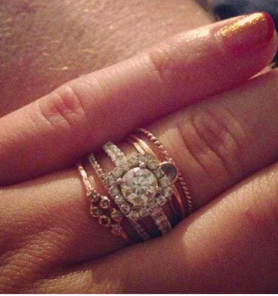 sfb client ring bohemian wedding - Bohemian Wedding Rings