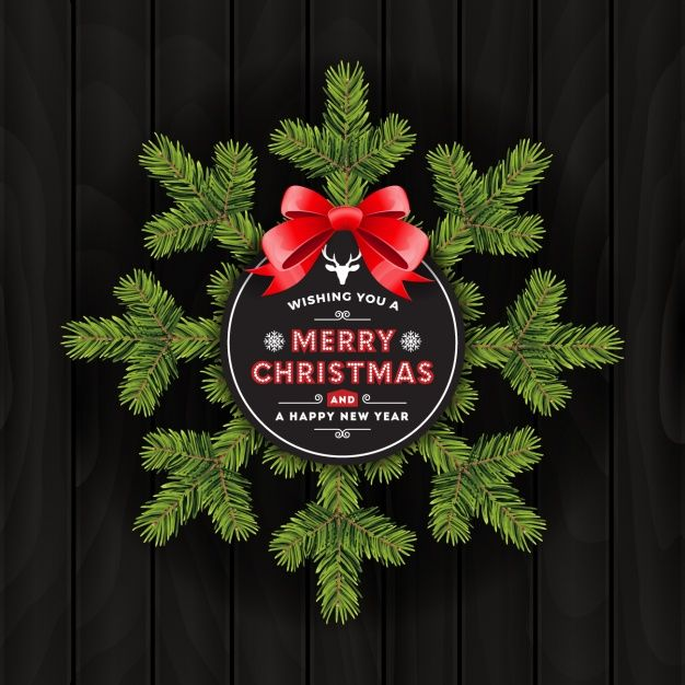 Christmas background design Free Vector FREE VECTOR TEMPLATE