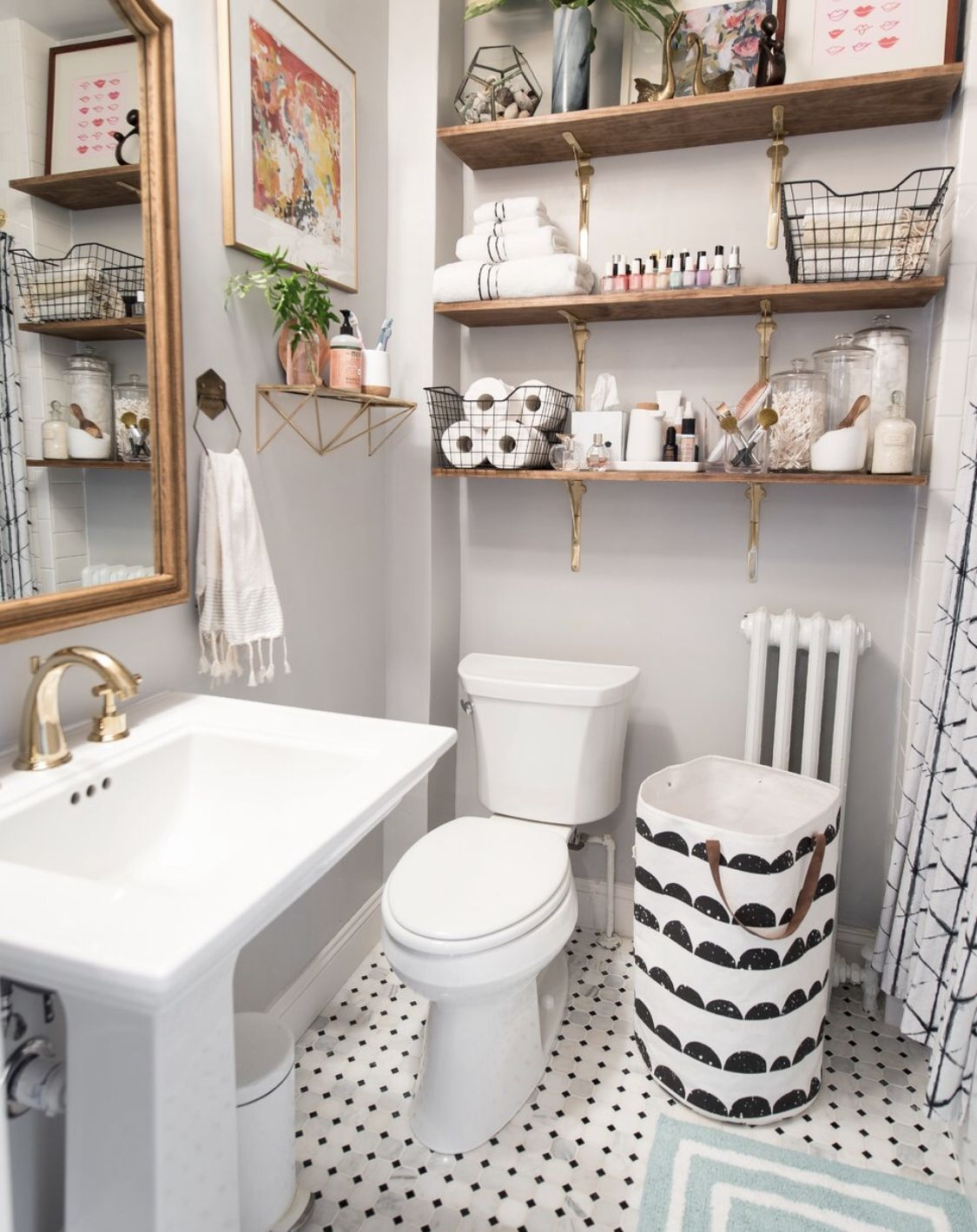 Home Decor 20 Cute Bathroom Countertop Ideas You Can Copy Now Small Bathroom Furniture Classic Small Bathrooms Small Bathroom Decor