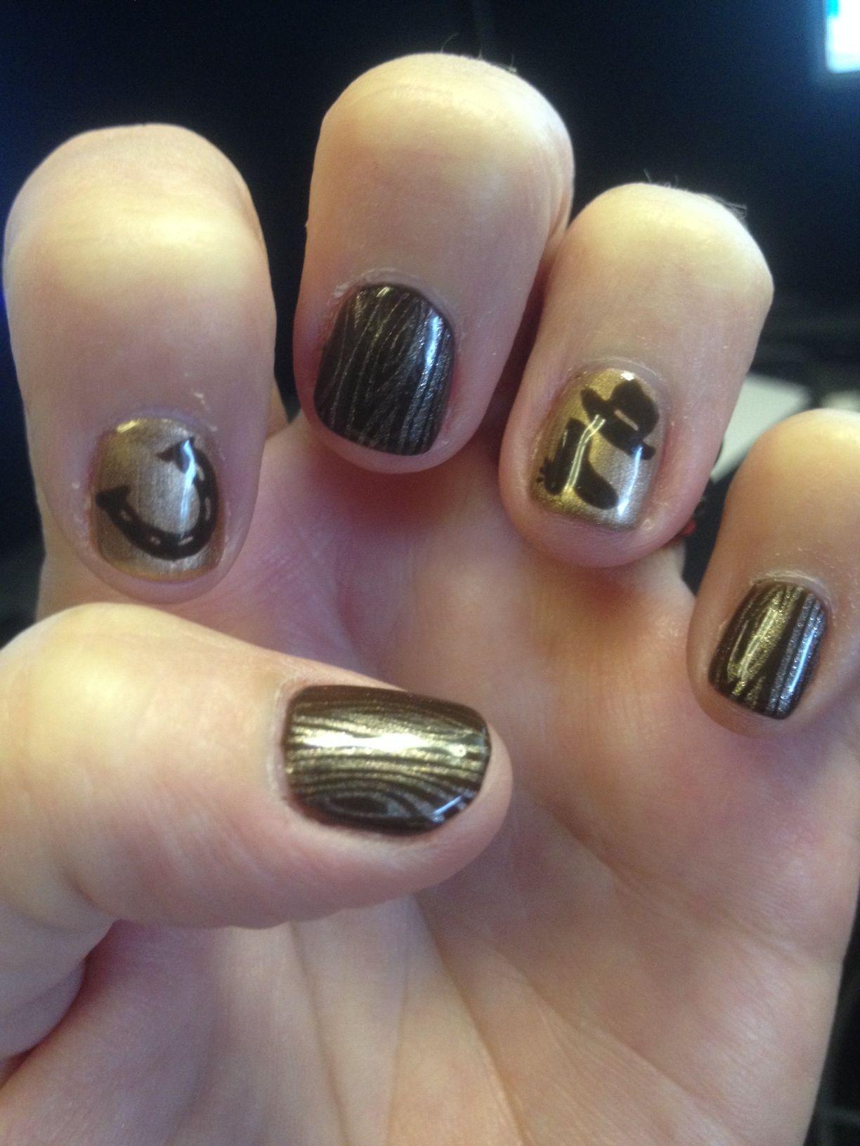Horseshoe Nail Art Horse Nails Crazy Nail Art Chevy Nails