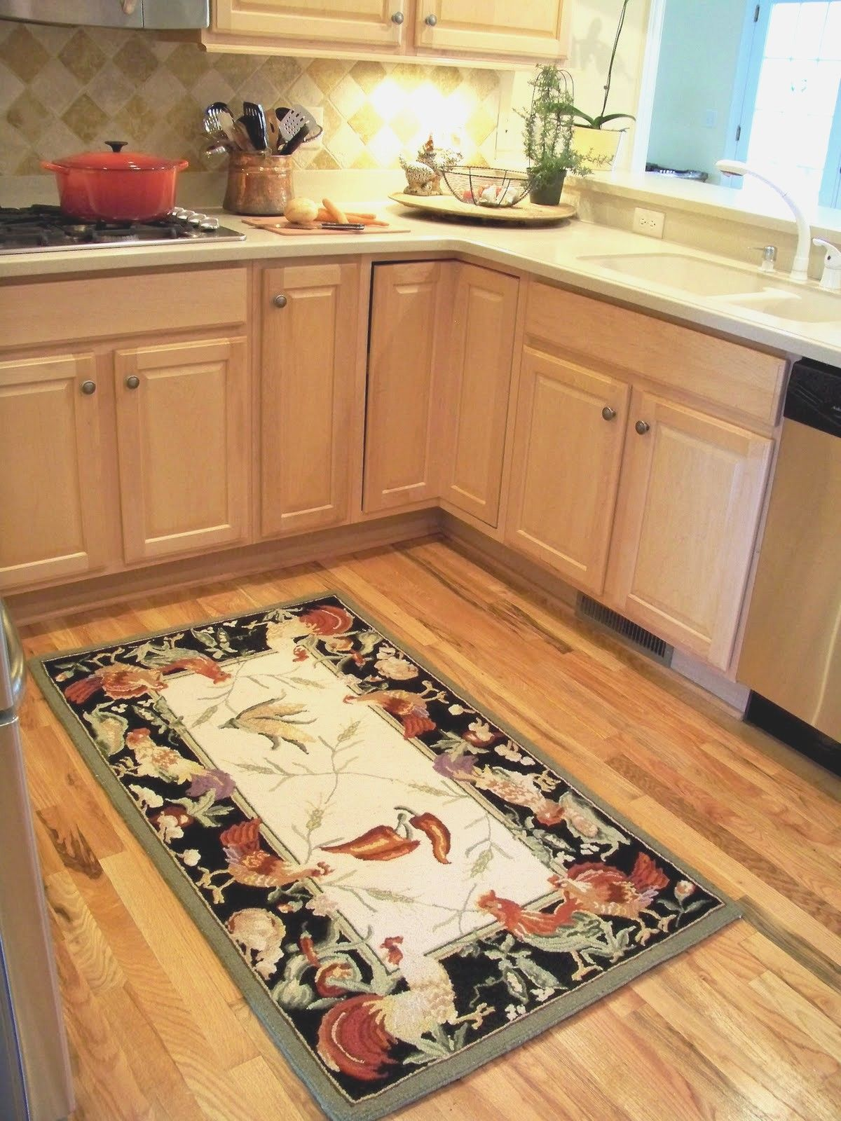 Non Slip Kitchen Rugs Washable