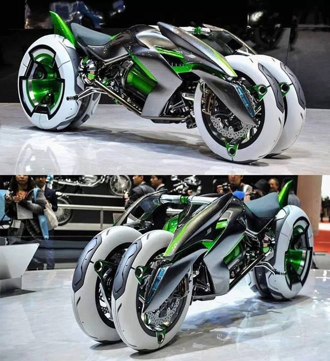 Insane Kawasaki Bike HD Wallpaper