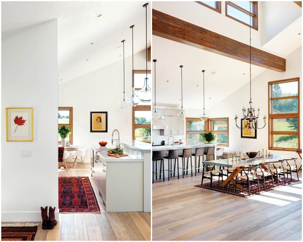 modern ranch kitchen western living | white. | Pinterest | Modern ...