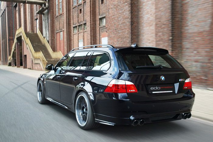 Edo Competition Sharpens Up Bmw E60 M5 Touring With Dark Edition