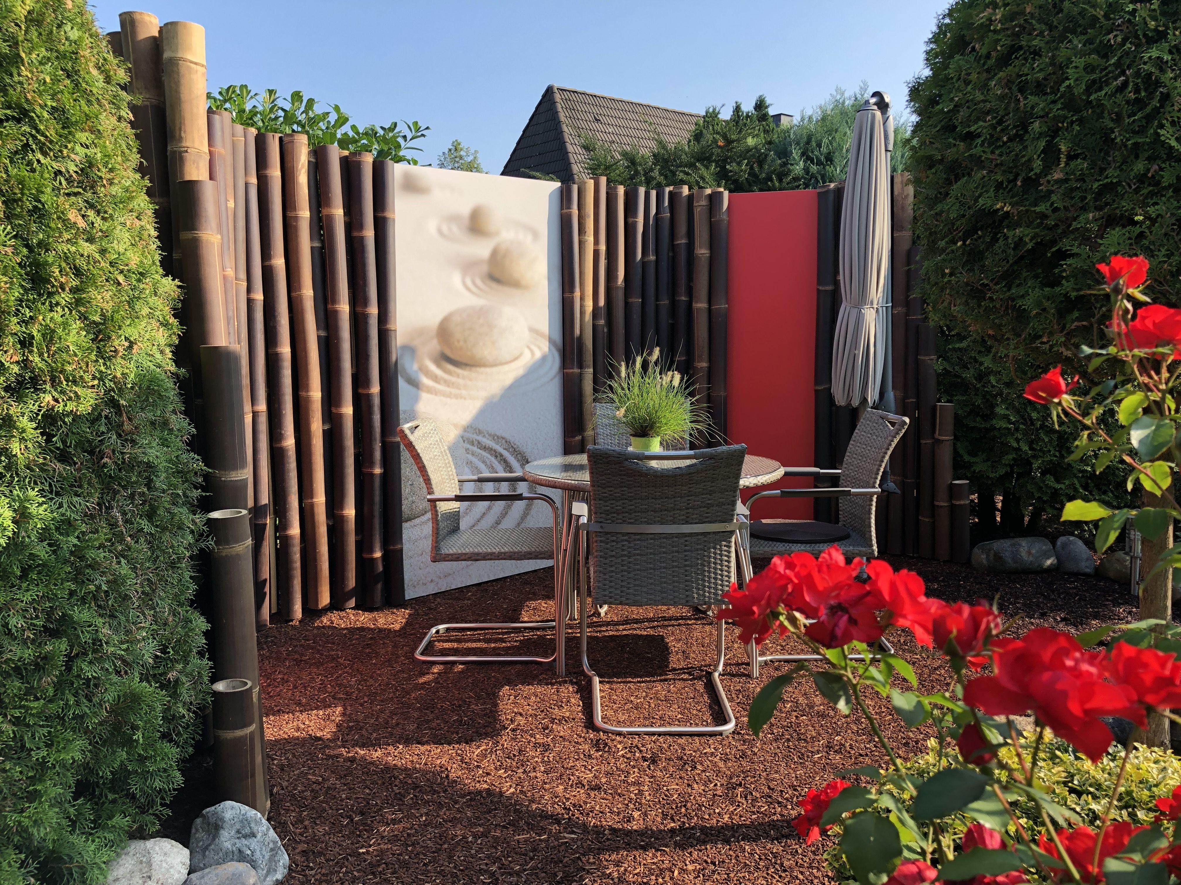Wohlfuhlecke In 2020 Garten Design Terrassensichtschutz Sichtschutzwande
