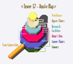 The Destructive Pixel Art Designs Of Tower 57