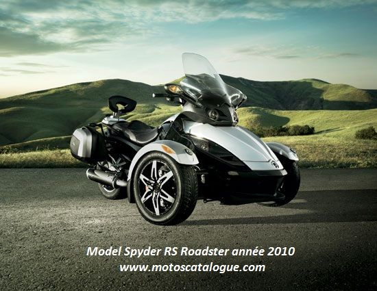 2010 BRP/ Can-Am Spyder RS Roadster