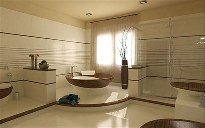 Wondreful,spacious spanish bathroom.