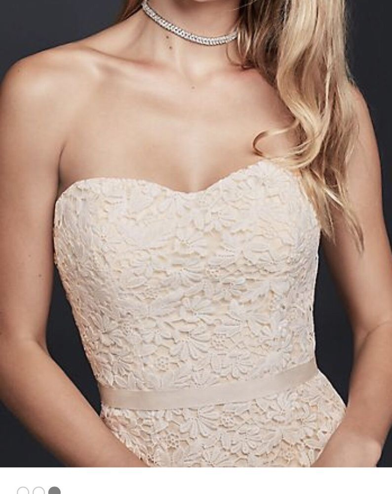Size galina guipure lace wedding dress think weddings