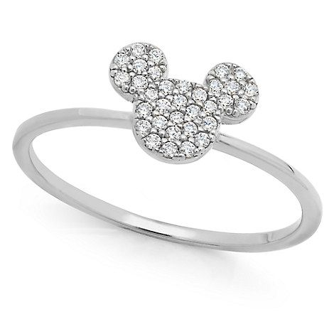 DISNEY MICKEY MOUSE STERLING SILVER IF YOU CAN DREAM IT YOU CAN DO IT/' RING 6