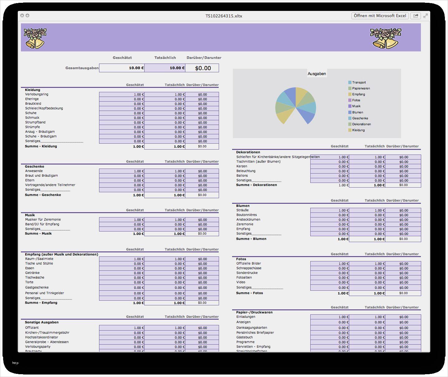 32 Gut Excel Vorlagen Kostenaufstellung Bilder In 2020 Excel Vorlage Vorlagen Deckblatt Vorlage