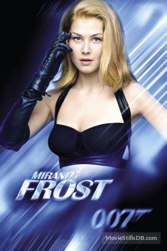 Miranda Frost Die Another Day 2002 Good Villain And Stunning Too Bond Girls Best Villains Celebs