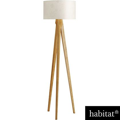 Kitty Tripod - Wood Floor Lamp at Homebase -- Be inspired and make your  house - Kitty Tripod - Wood Floor Lamp At Homebase -- Be Inspired And Make