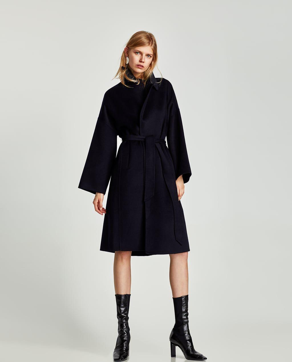 Zara mantel vrouwen