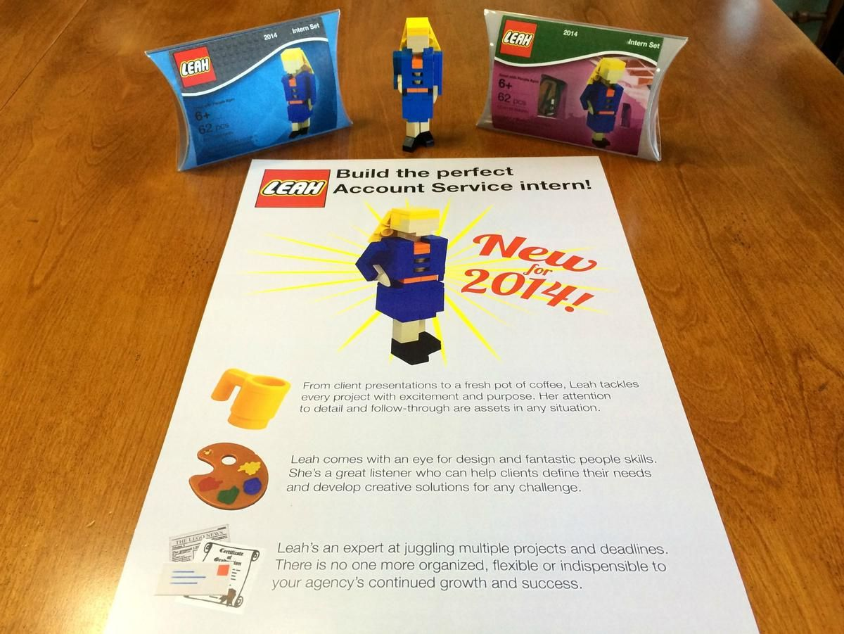 Best Resume Ever Woman Creates LEGO Version of Herself