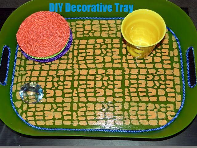 DIY Decorative Tray