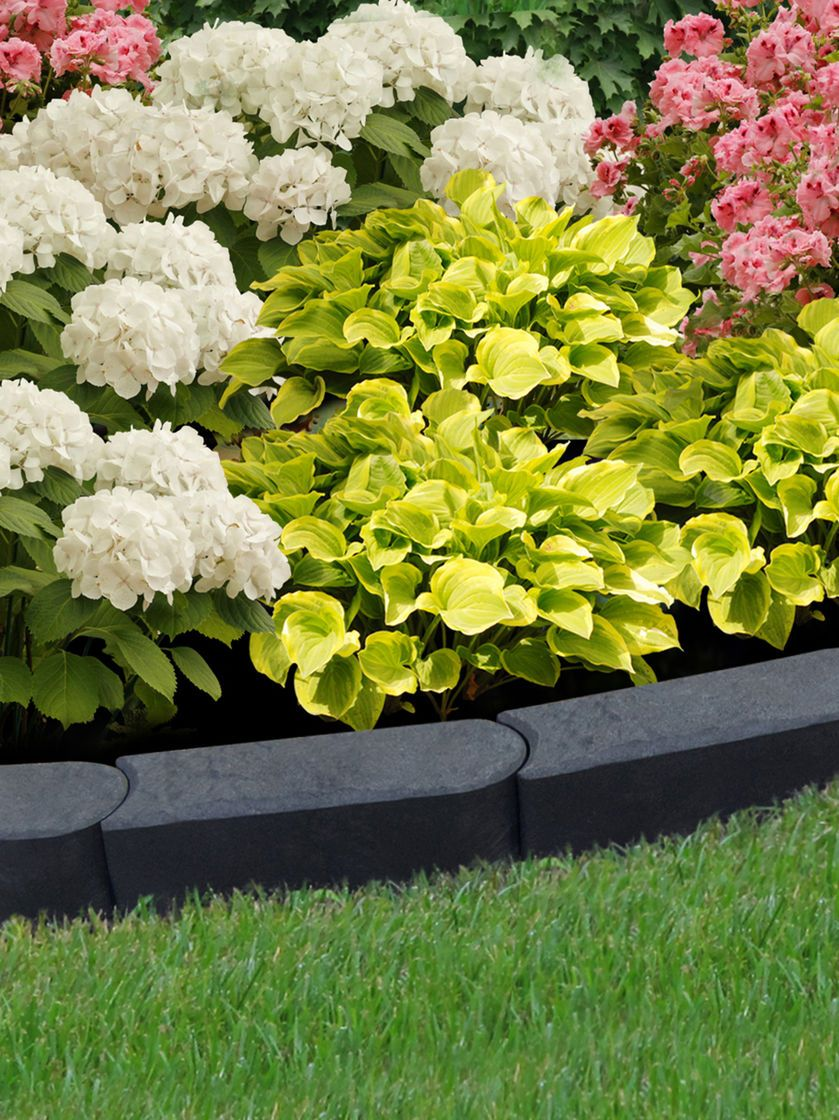 Diy Lawn Edging Ideas Flexi Curve Garden Edge At Menardsthis Is Made From Recycled