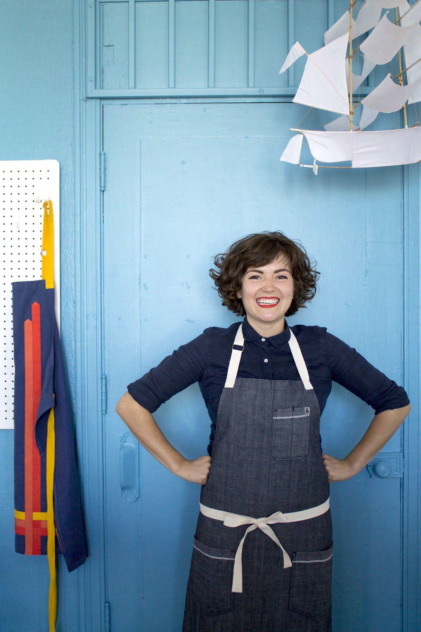 Ellen Bennett\'s Aprons: Style Finally Comes to Kitchen Wear | Apron