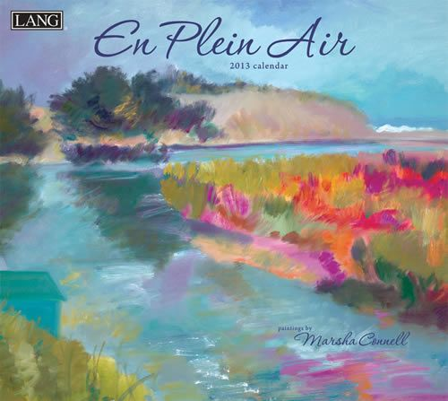 Buy Lang En Plein Air 2013 Calendar online at Megacalendars Marsha Connell masters the style of En Plein Air painting which is to paint on location in a contemporary style of vibrant colors and fluid romantic brush strokes