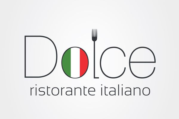 dolce italian restaurant logo by injektilo via behance logo rh pinterest com italian restaurant gosforth newcastle italian restaurant gosport