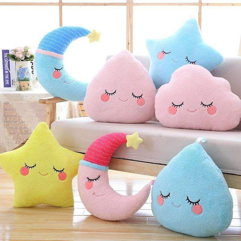 Cartoon Soft Plush Fish Pillow Kawaii Funny Gift plush doll soft throw pillBILU