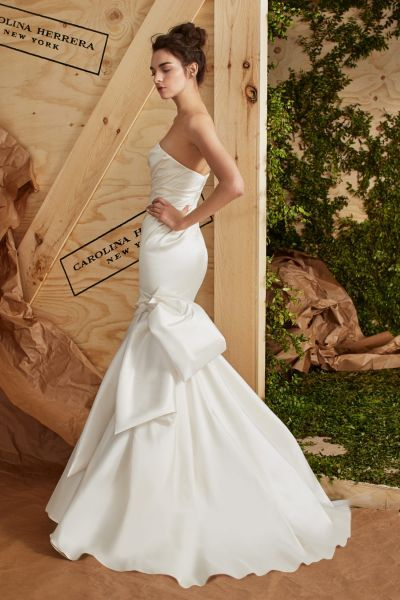 40 vestidos de novia para mujeres altas: diseños para brillar y cautivar