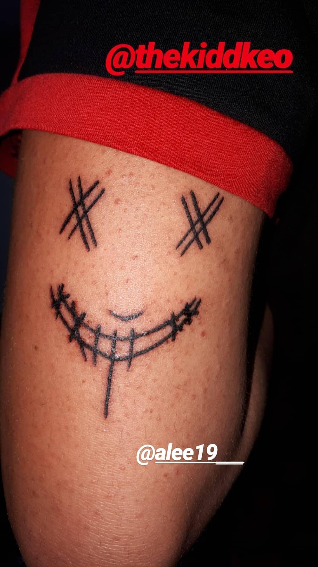Kidd Keo Lapurgadekeoland Keoland Tatuajes