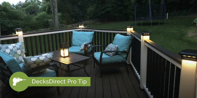 Ecksdirect Pro Tip Control Your Solar Deck Lighting Easily With