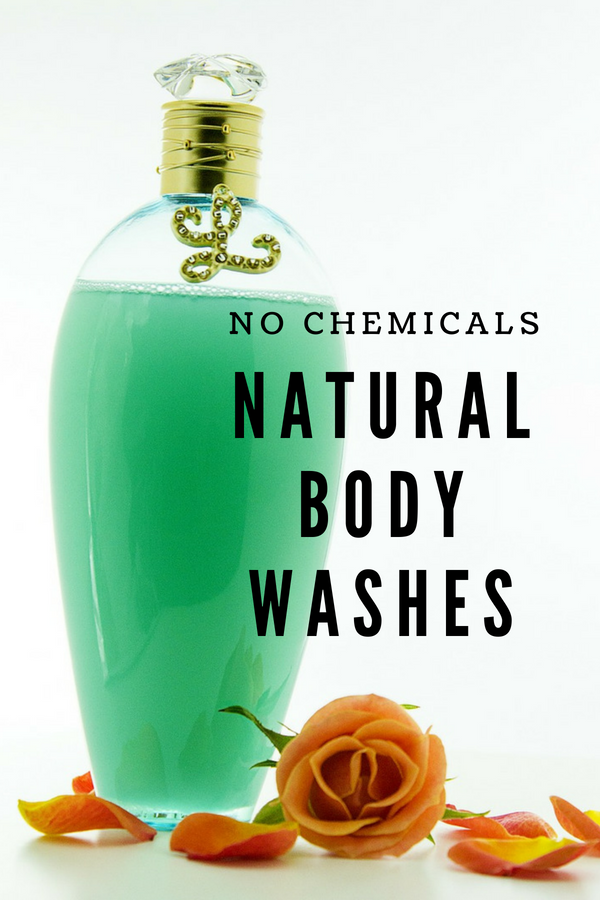 Most body washes contain numerous chemicals which can