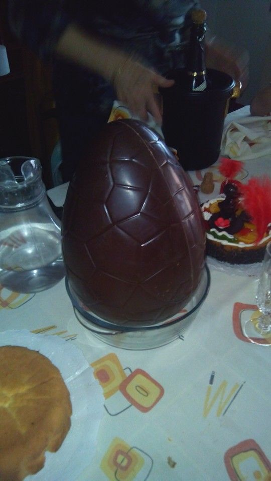 La mona 2014. Easter'14 800 g of dark chocolate