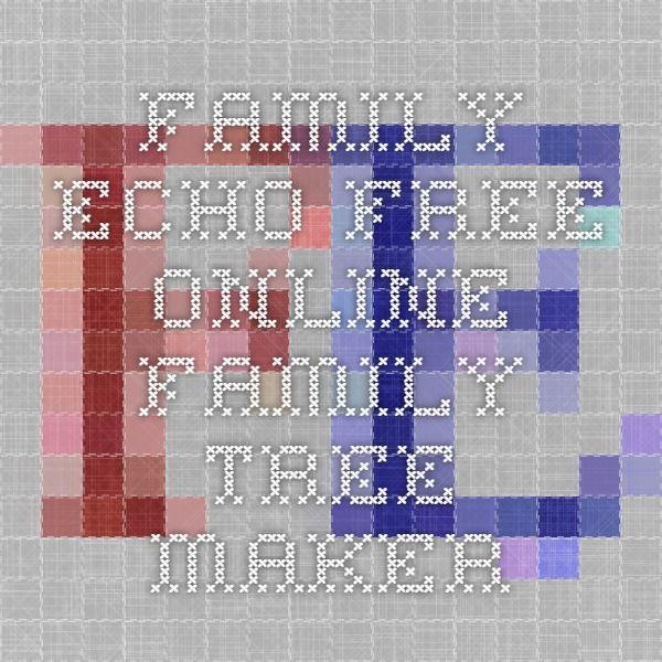 Family Echo - Free Online Family Tree Maker family tree