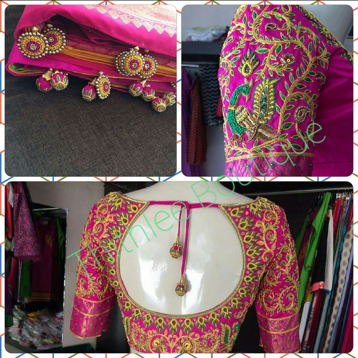 Thithlee Boutique Br Sarjapur Road Near Wipro Br Bangalore India Br Contact Wedding Blouse Designs South Indian Blouse Designs Best Blouse Designs