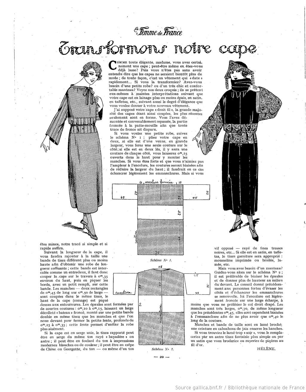 La Femme de France 1922/01/29   pattern systems   Pinterest